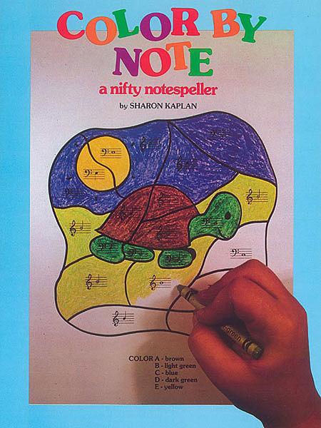 Notespeller coloring
