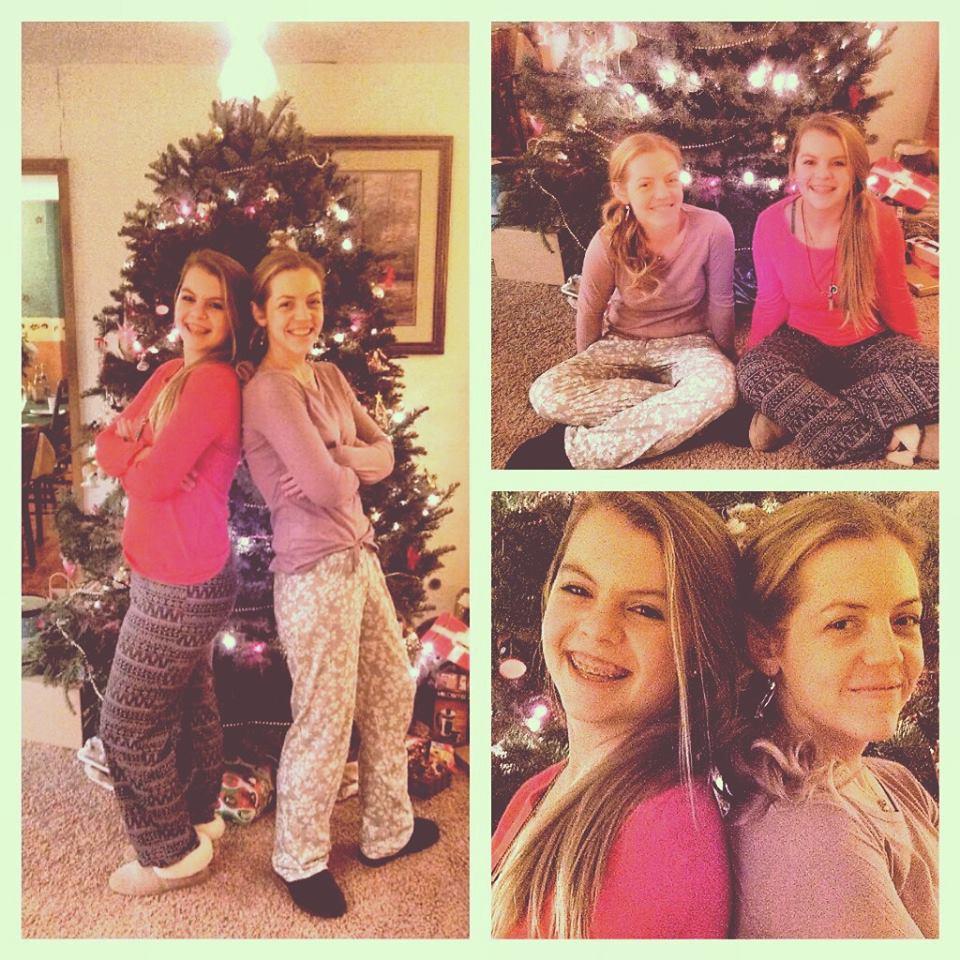 Christmas 2013 in pjs