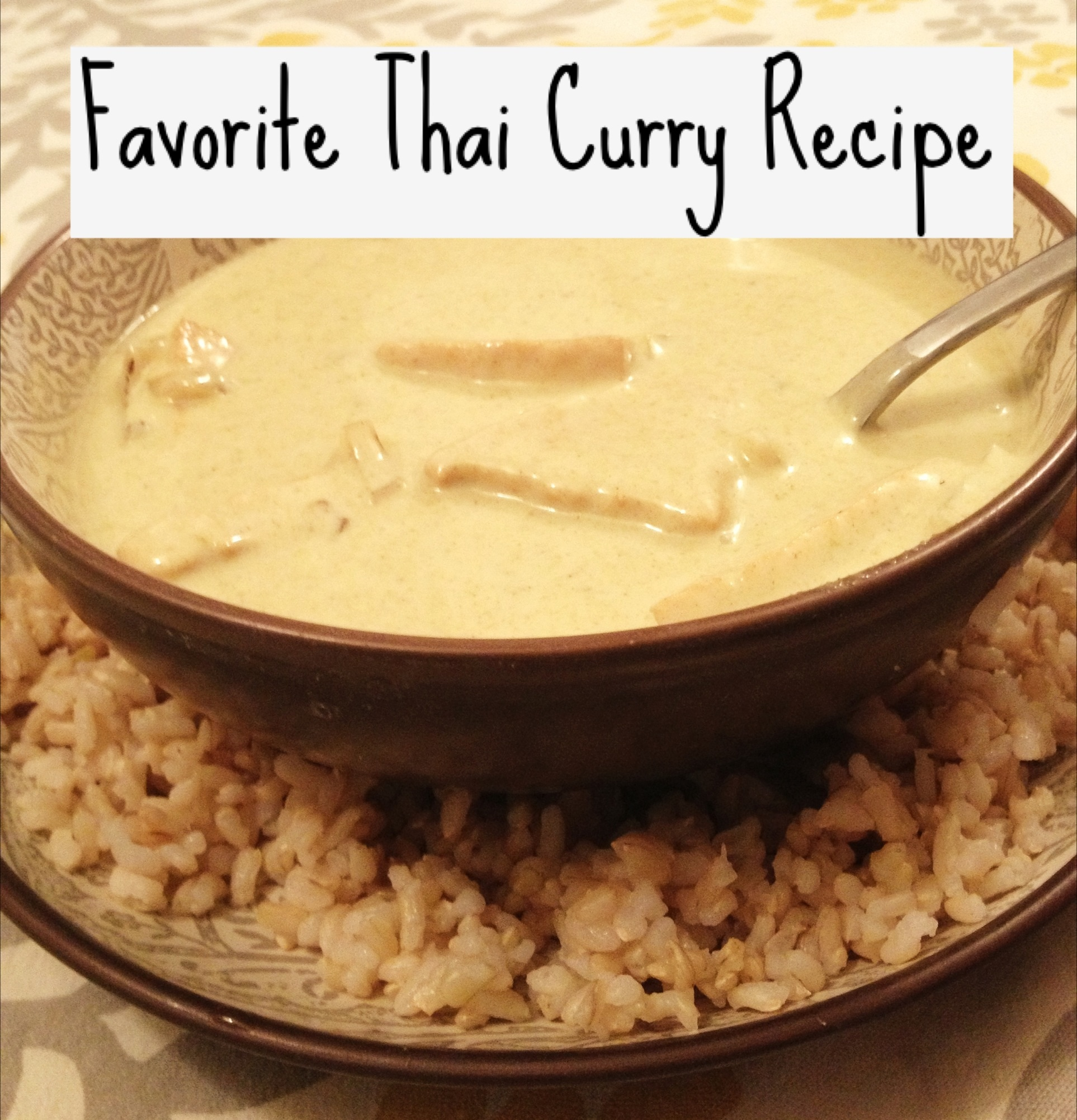 Favorite Thai Curry Recipe