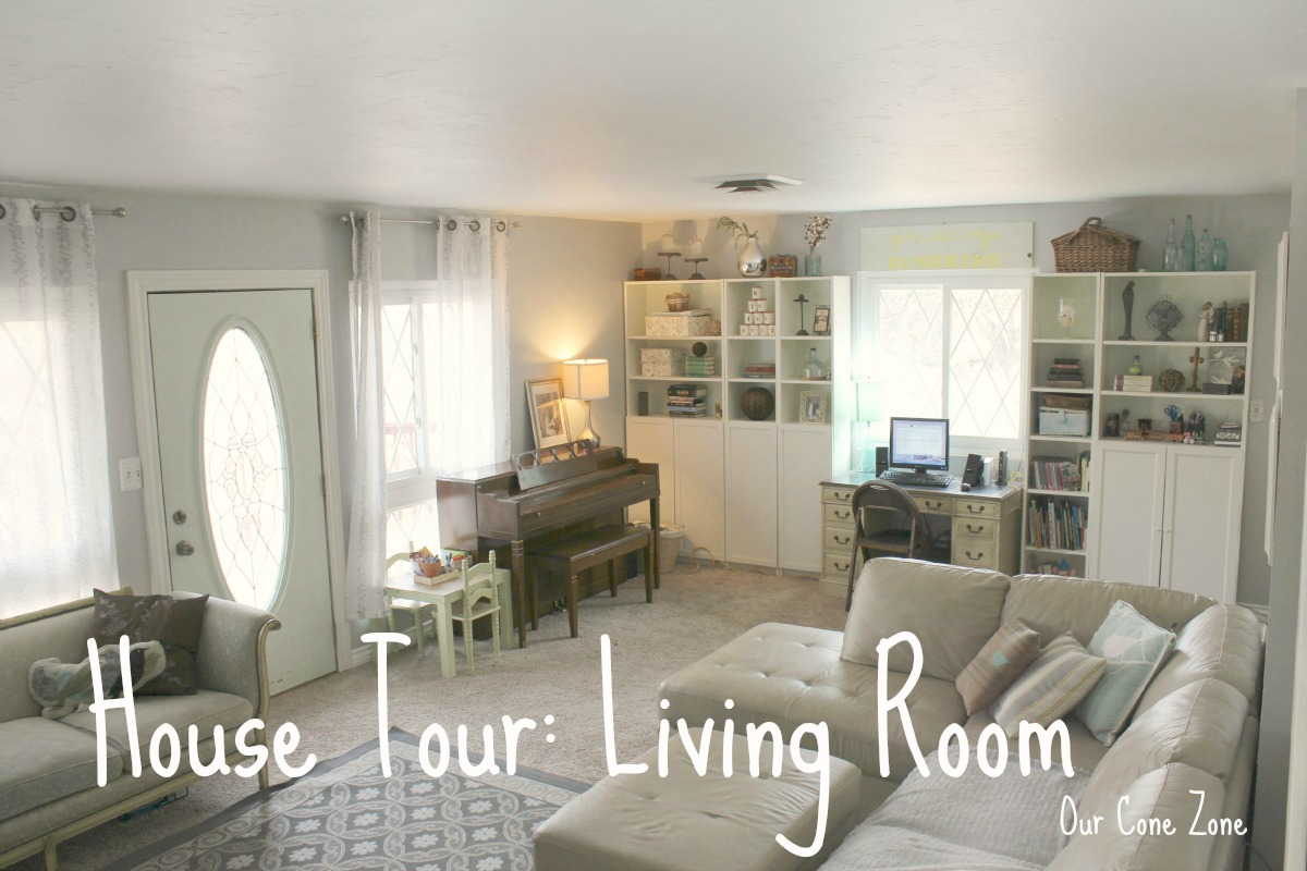 Living Room House Tour
