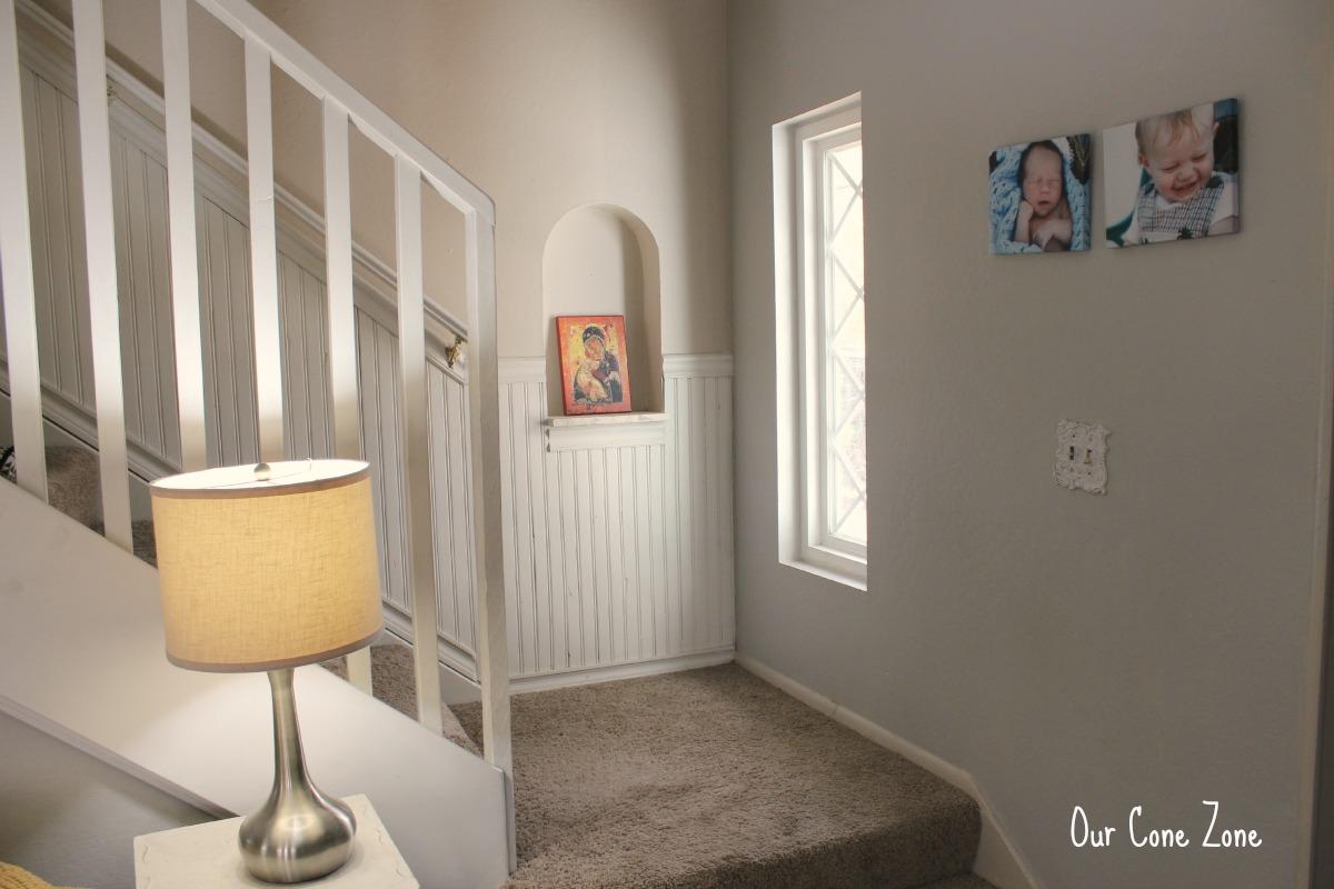 Living Room stairway