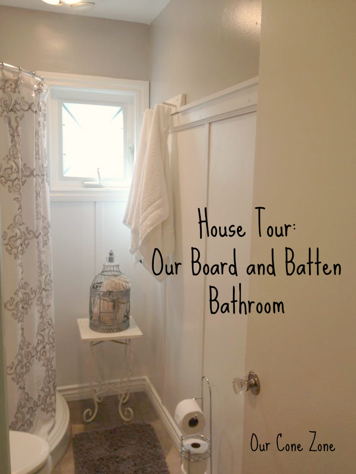 Board and Batten Bathroom Cover