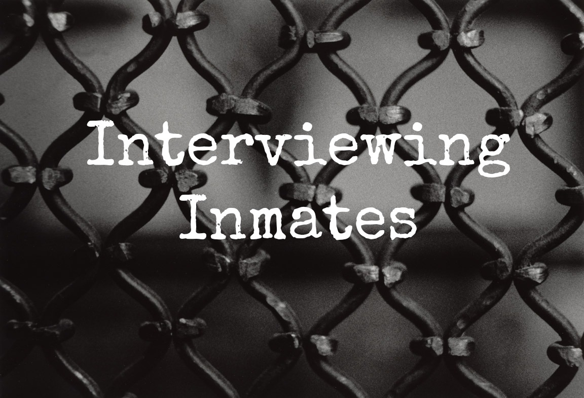 Interviewing Inmates Cover