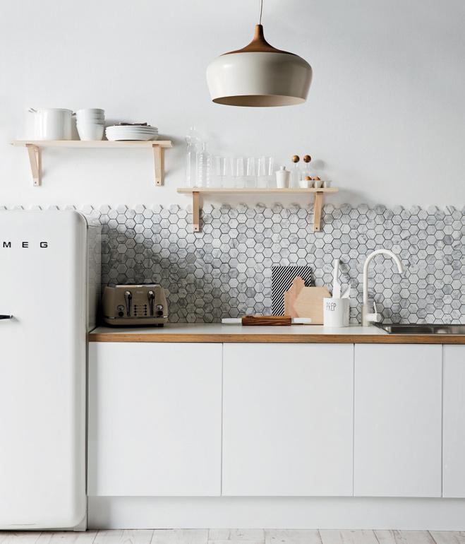 Modern White Tile 5