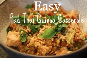 Pad Thai Casserole cover