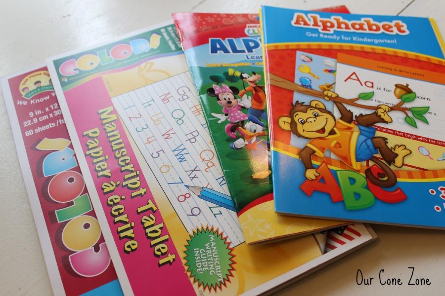 Preschool at Home Week 1 Workbooks