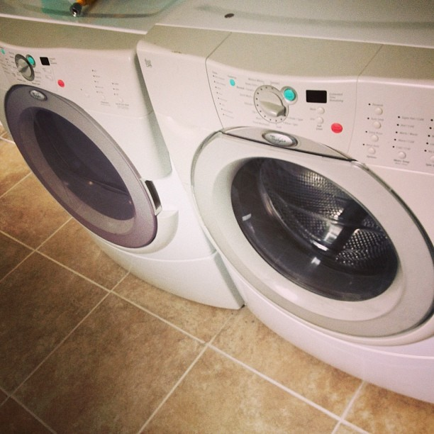 Washer and Dryer new