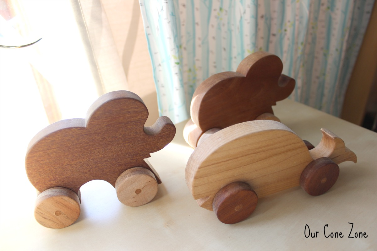 Boys Room wooden toys