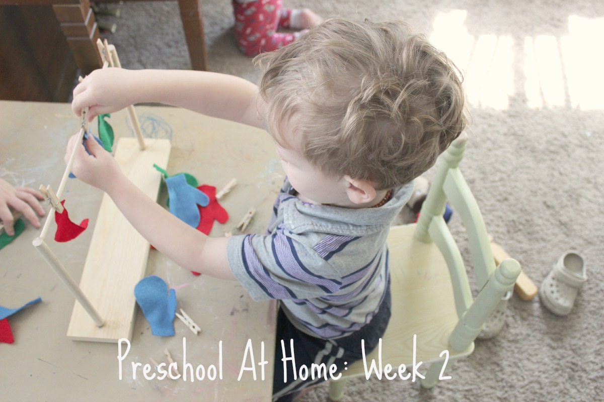 Preschool at Home Week 2 Cover