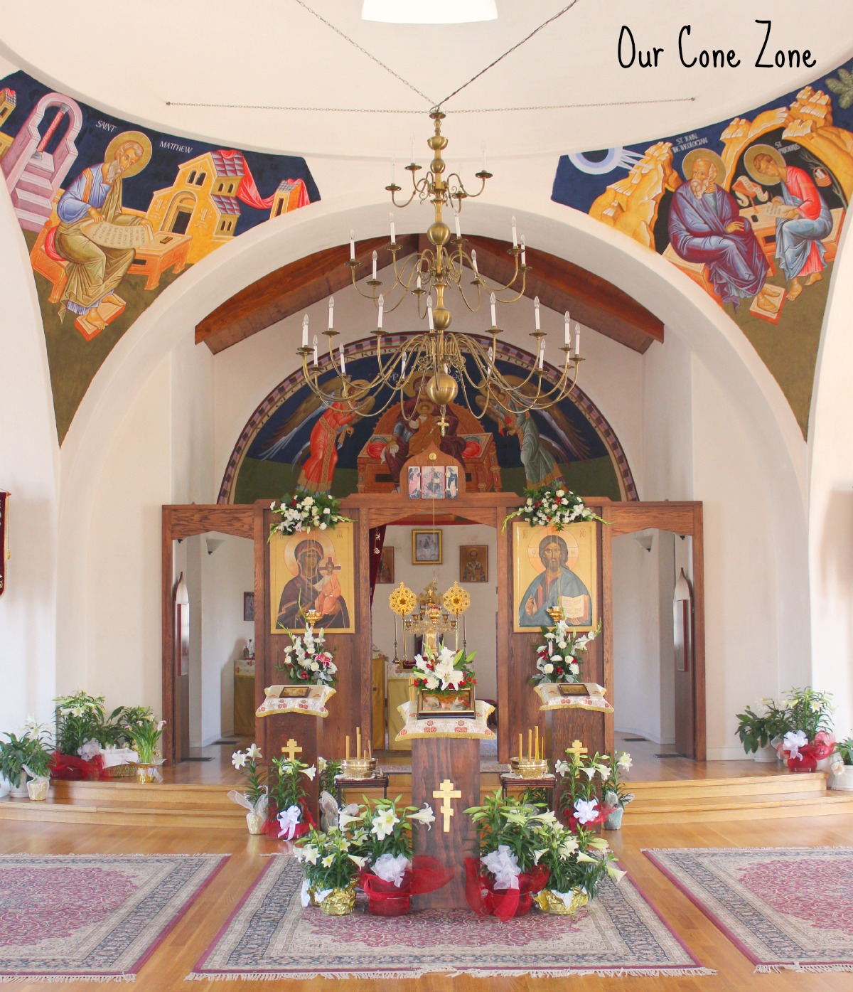 Church of the Anunciation altar