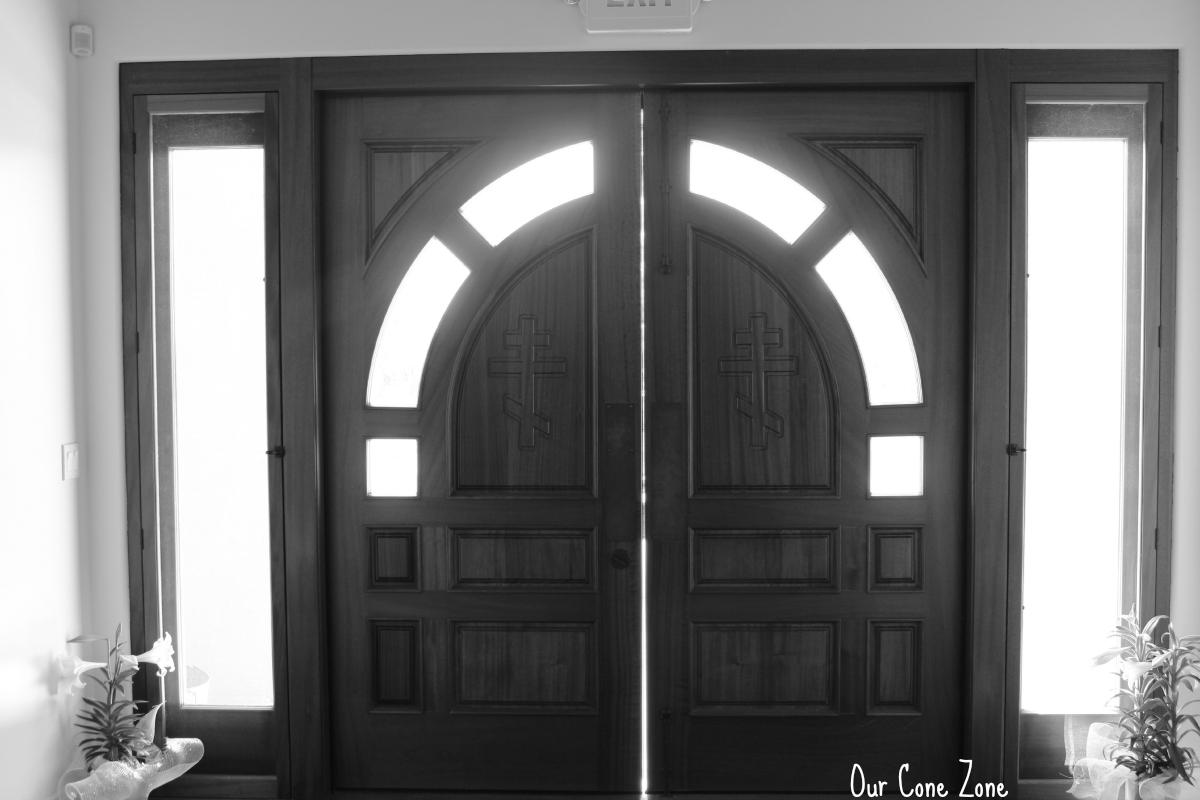 Pascha Church doors