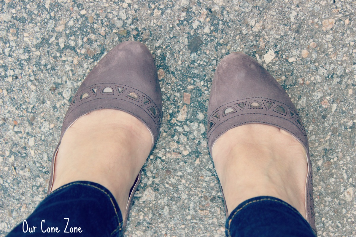 What I Wore-- Anthropologie Heels