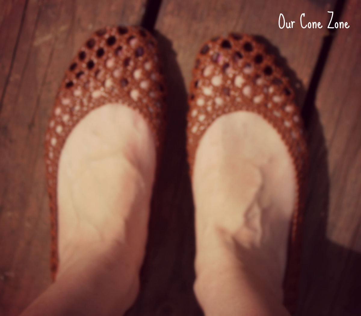 What I Wore Brown summer Sandals