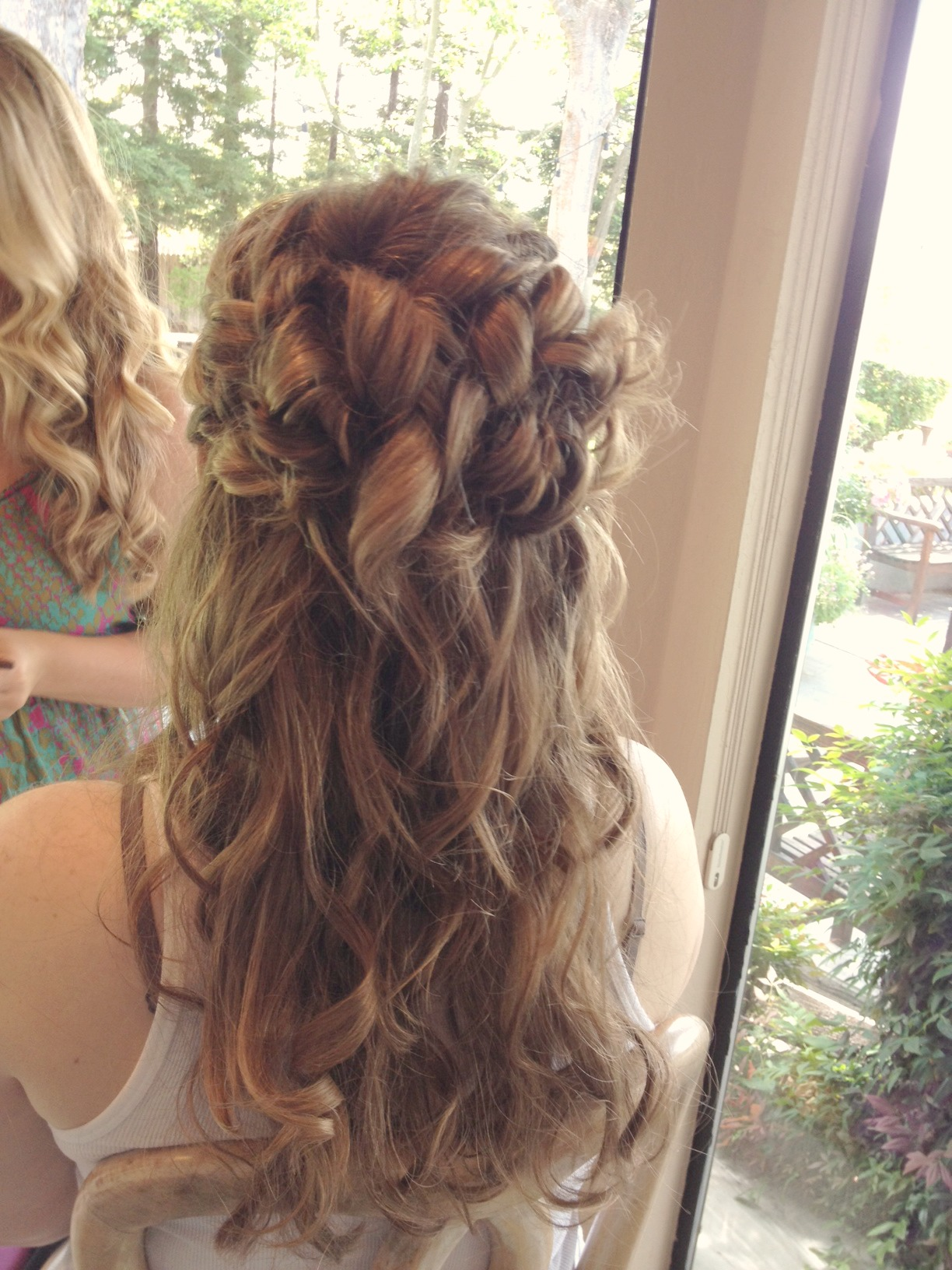 Kristens wedding hairstyle