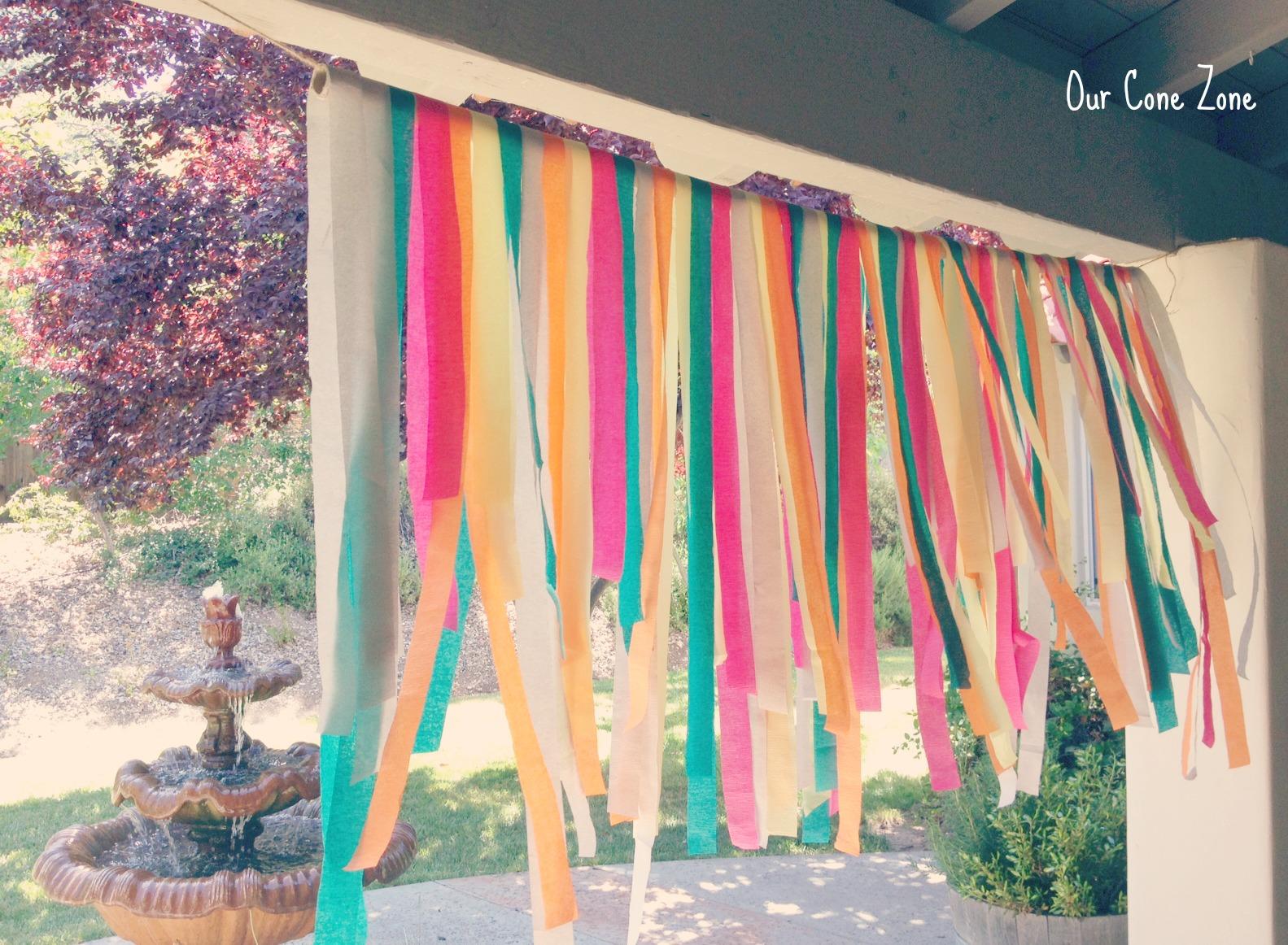 Bridal Shower streamer banner