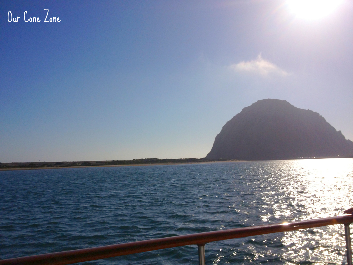 Morro Bay Rock from a boat