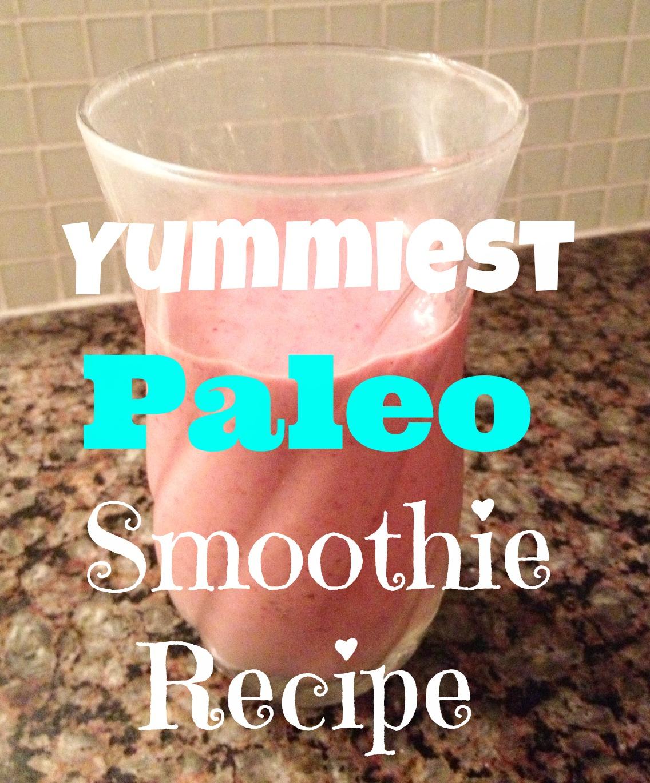 Paleo Smoothie Cover