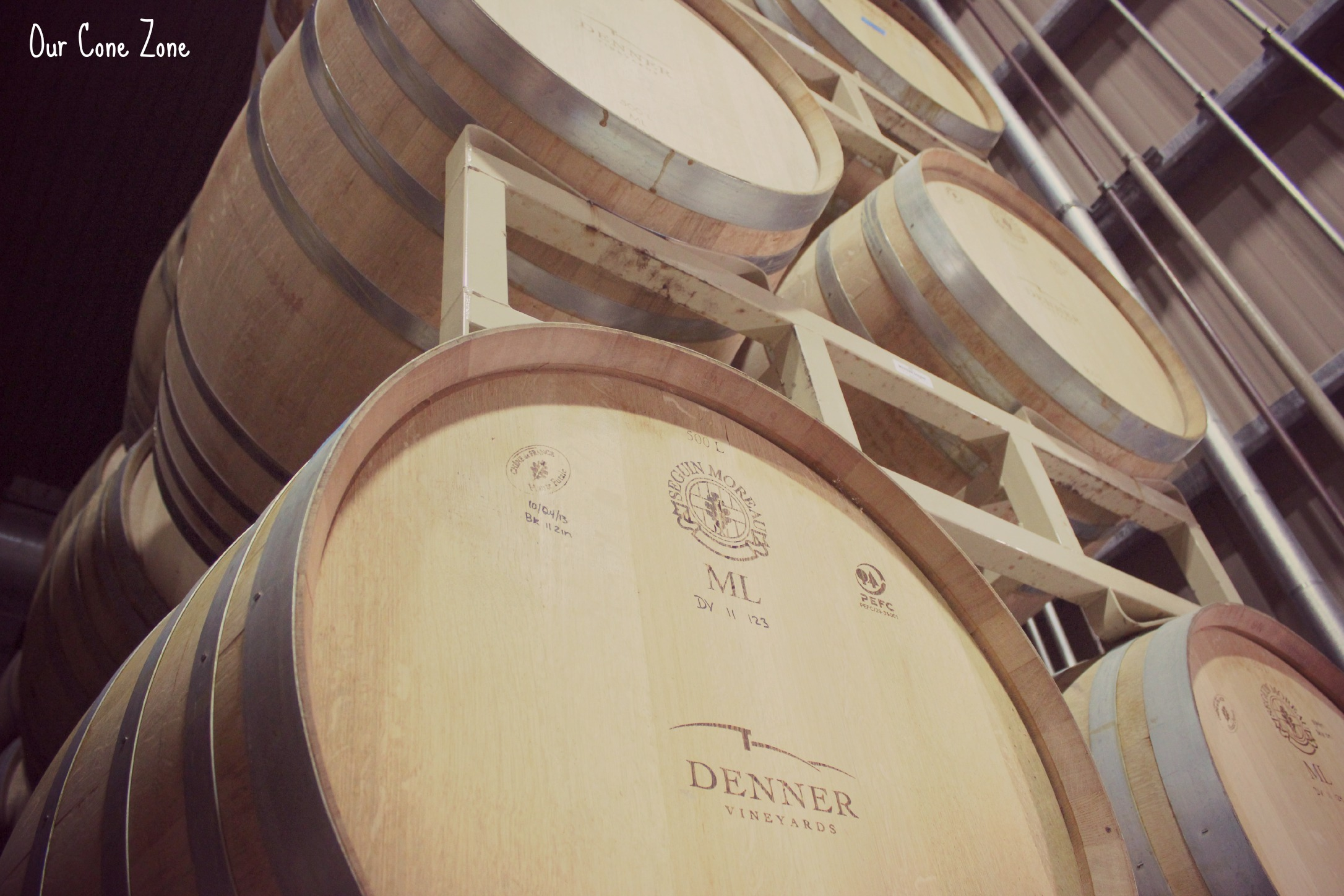 Denner Vineyards Wine barrel