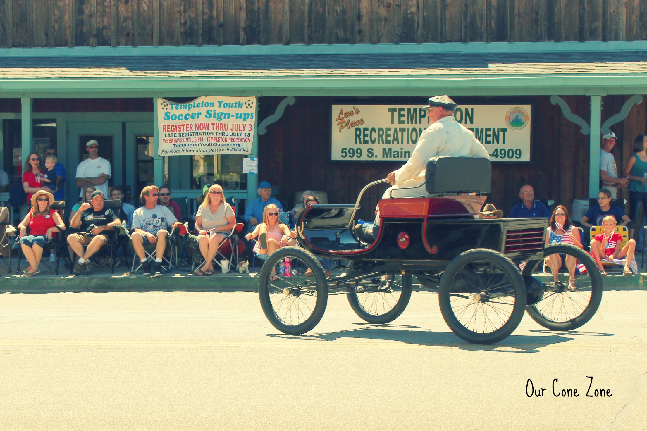 Old Car in Parade