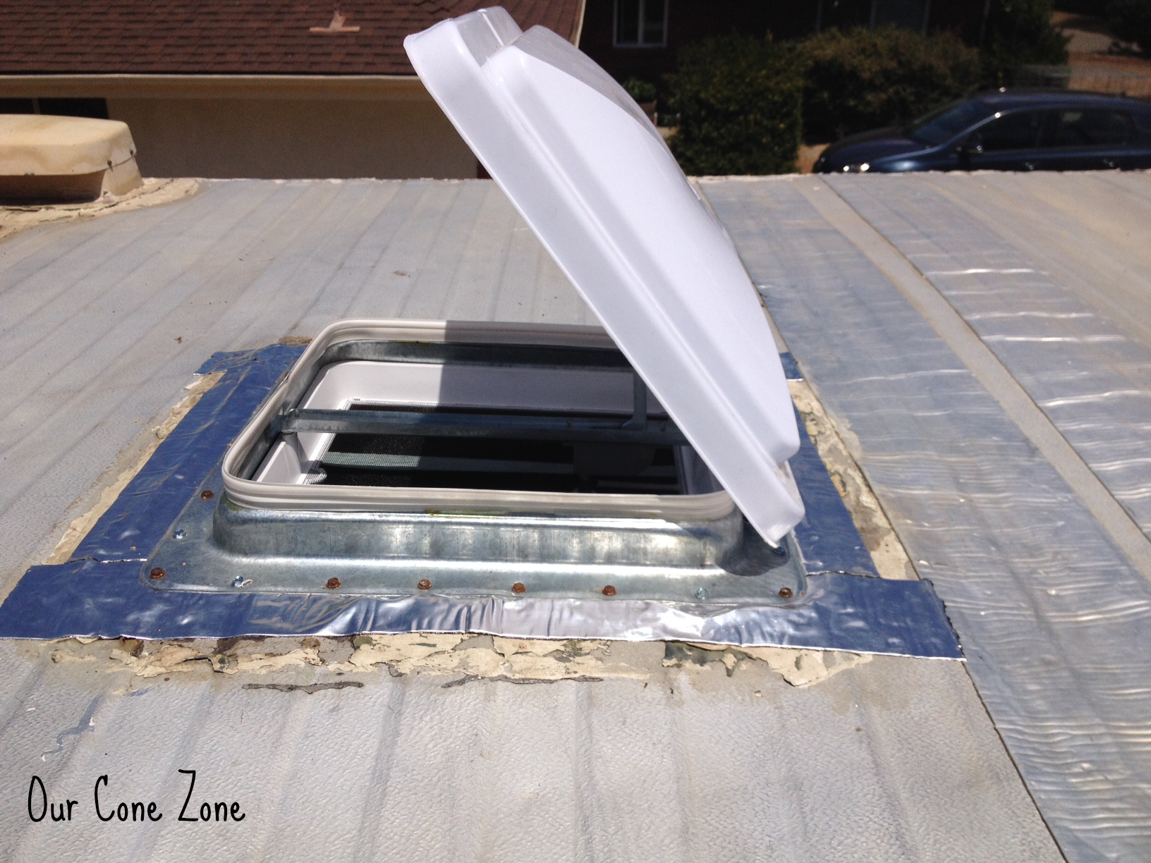 Superior Trailer Skylight Replacement