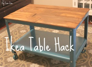 Ikea Table Hack cover