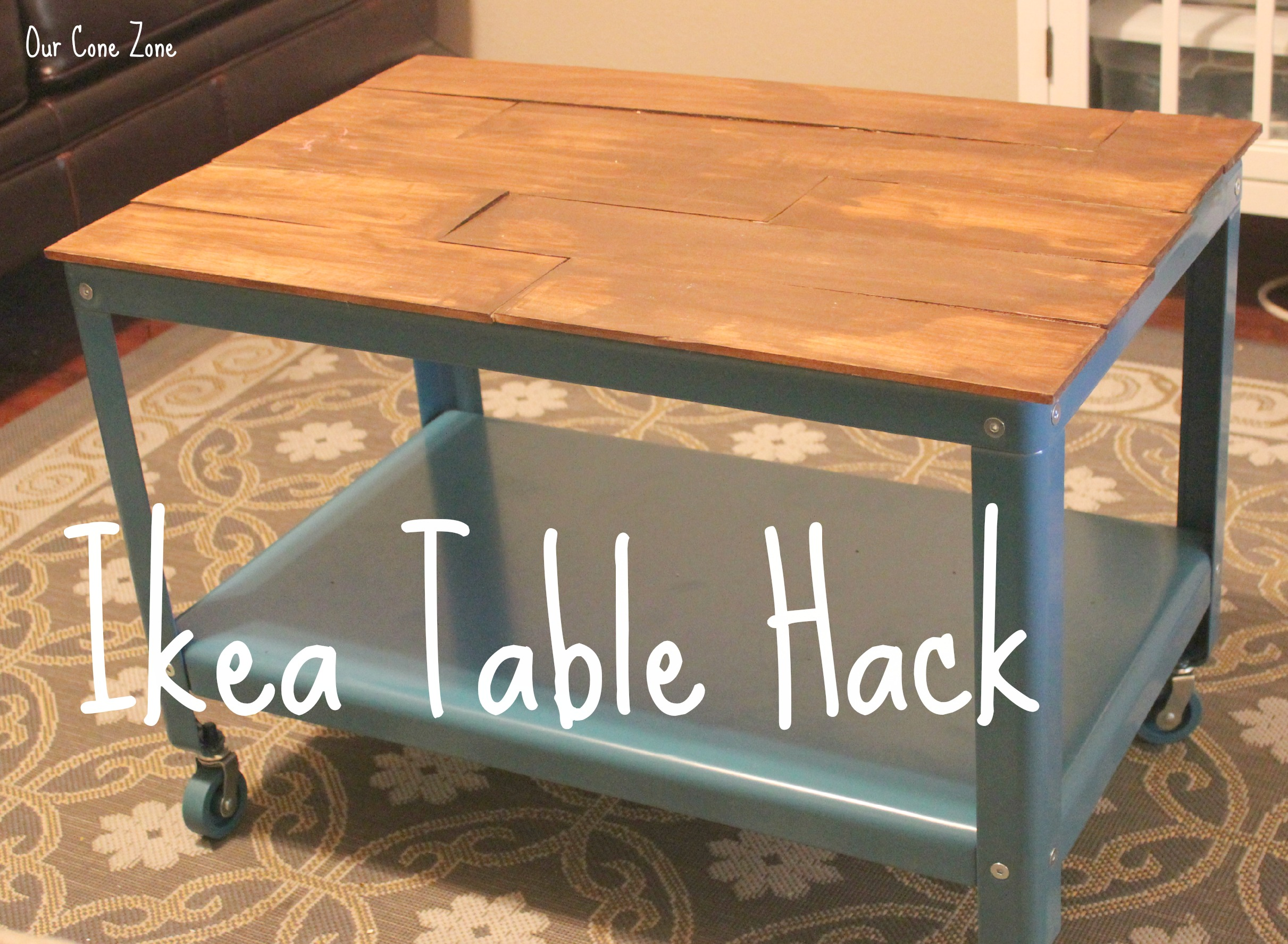 Ikea Coffee Table Hack Our Cone Zone