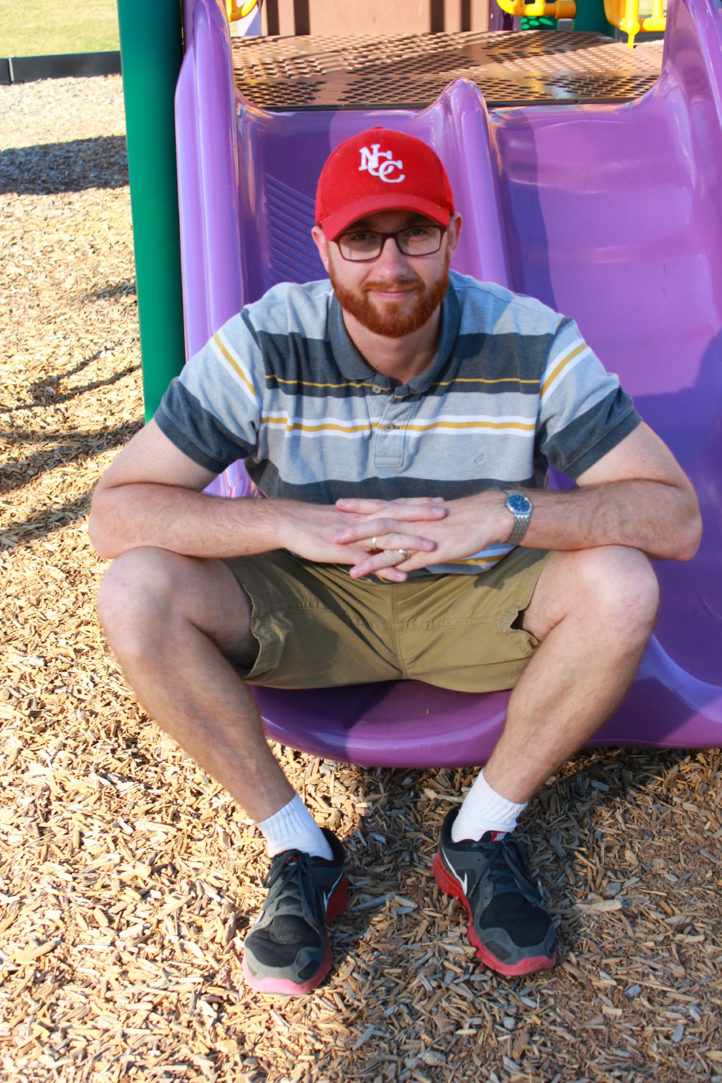 Jesse on slide