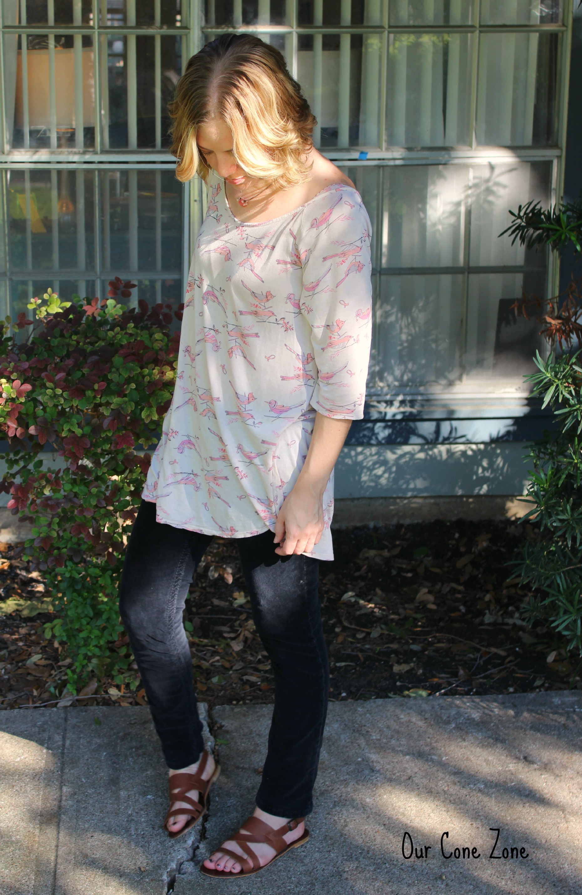What I Wore Bird Shirt 1