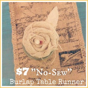 $7 Table Runner