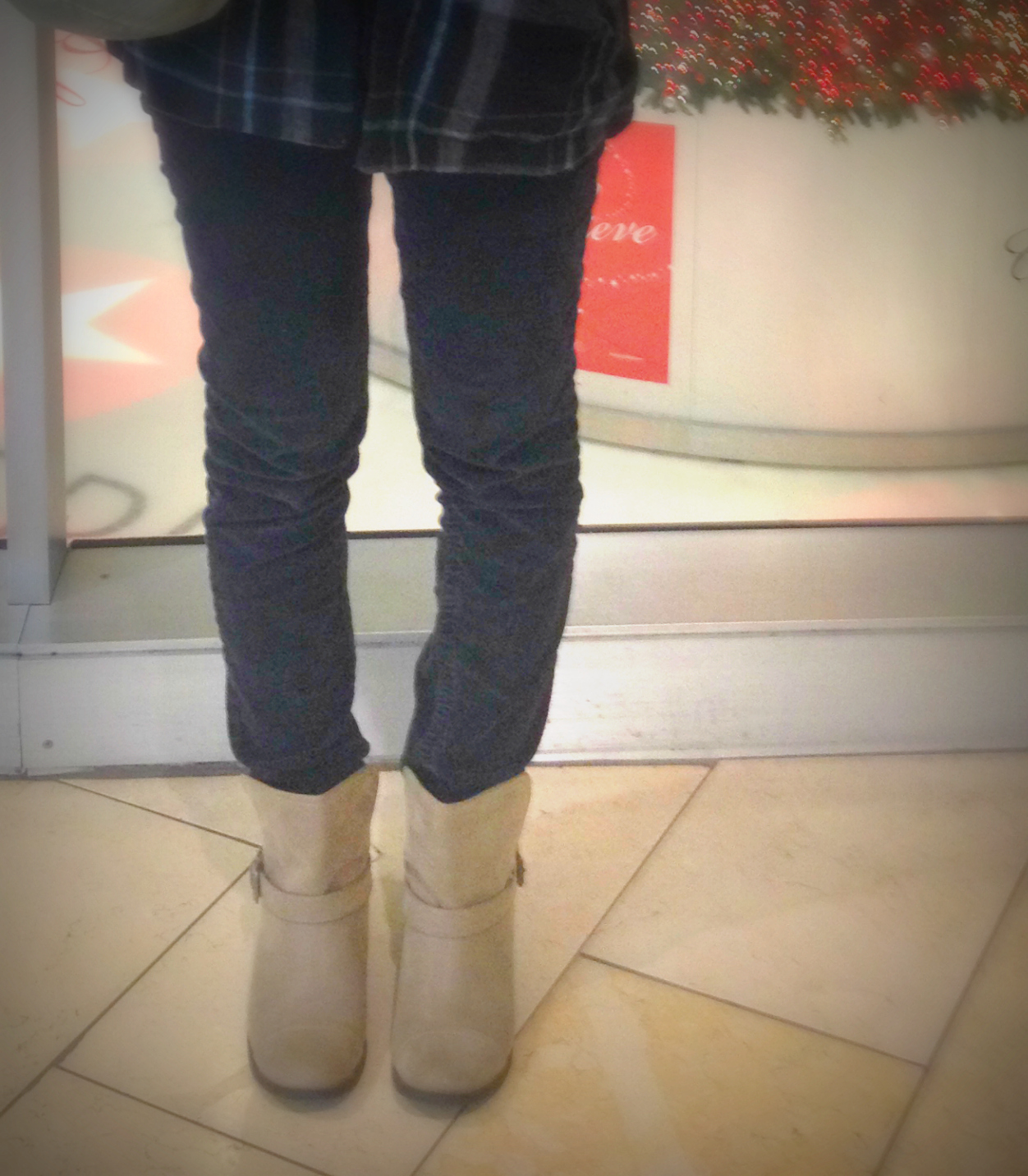Mall outfit shoes