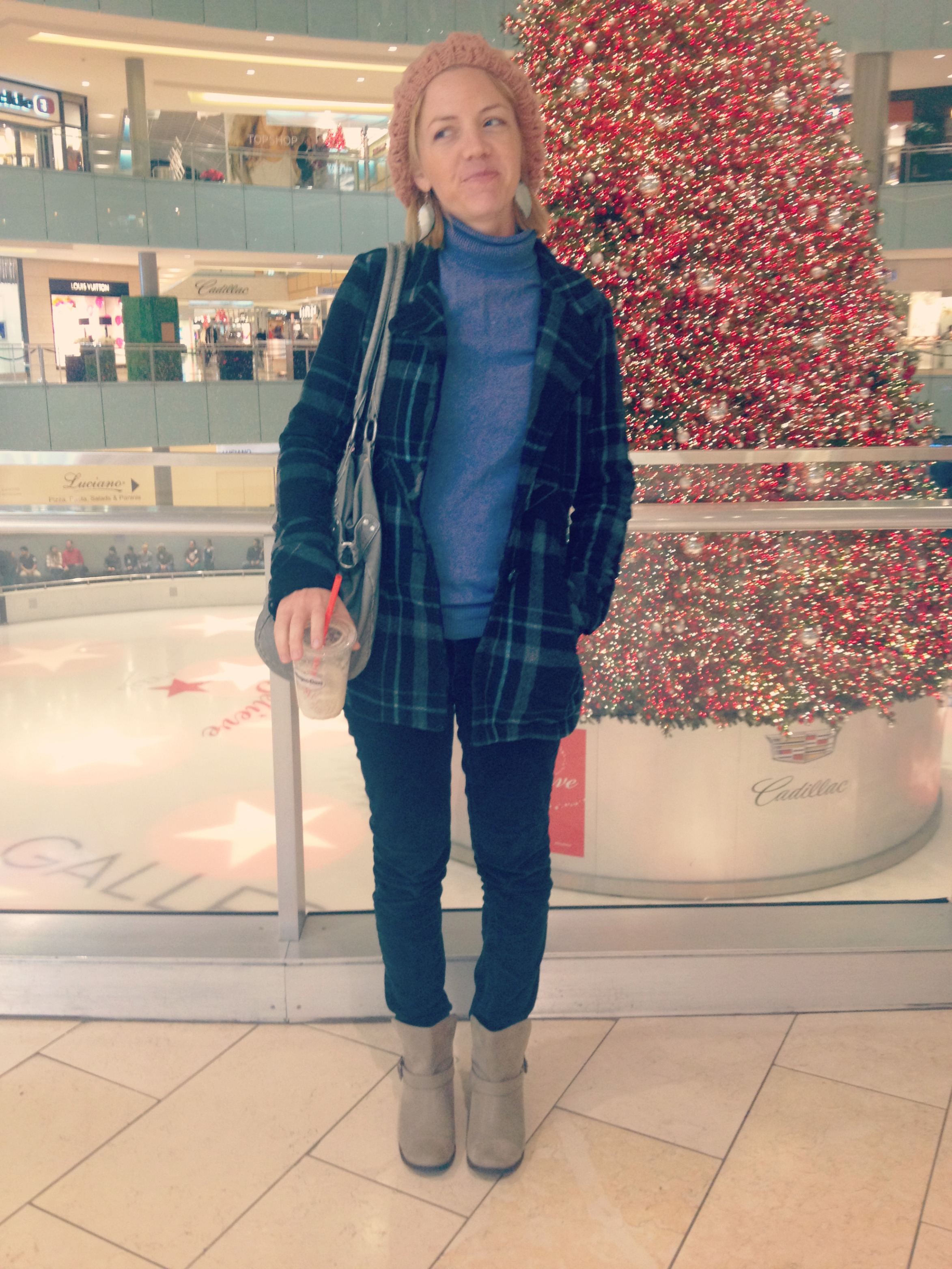 Winter Outfit at the mall