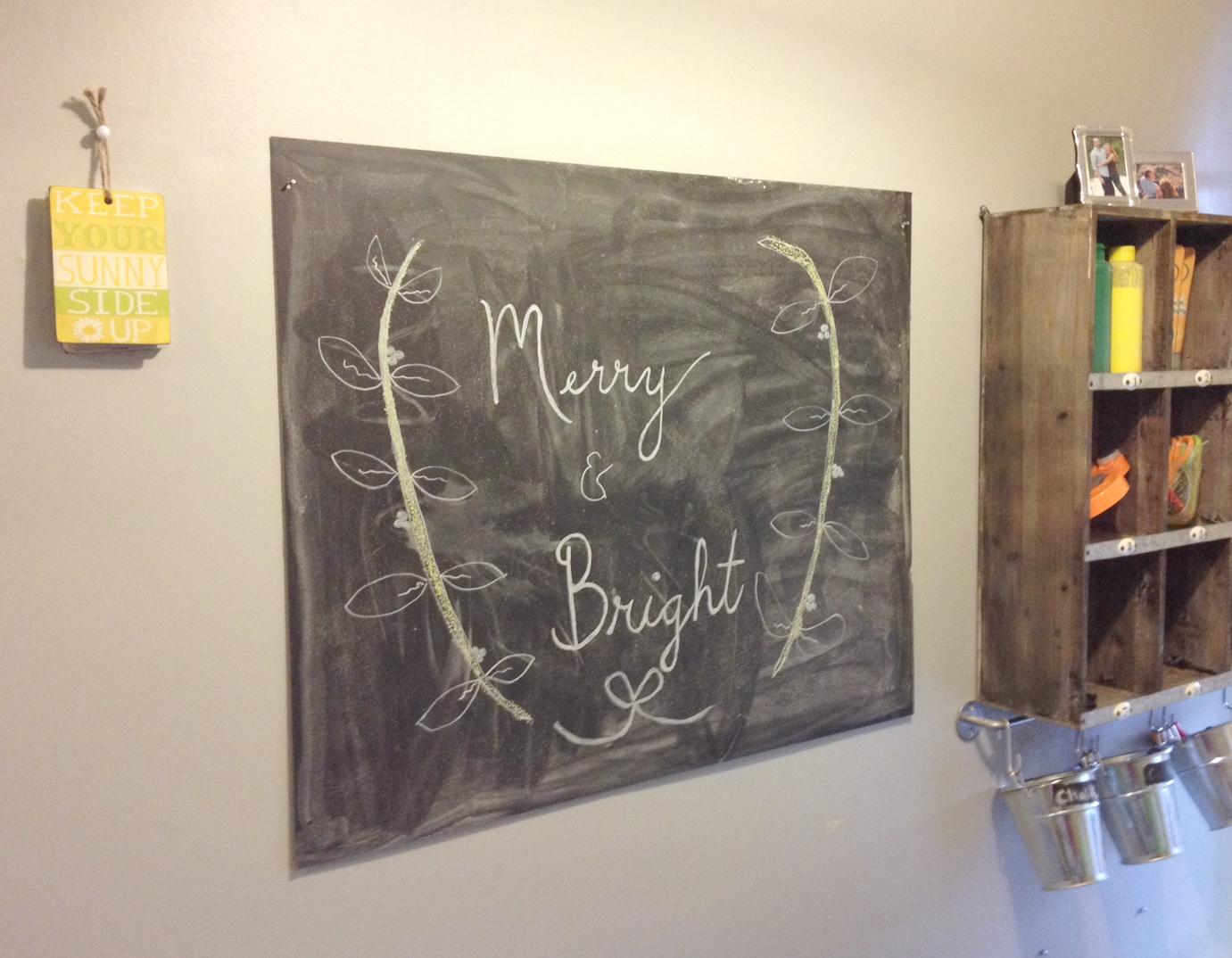 Chalkboard Process 4