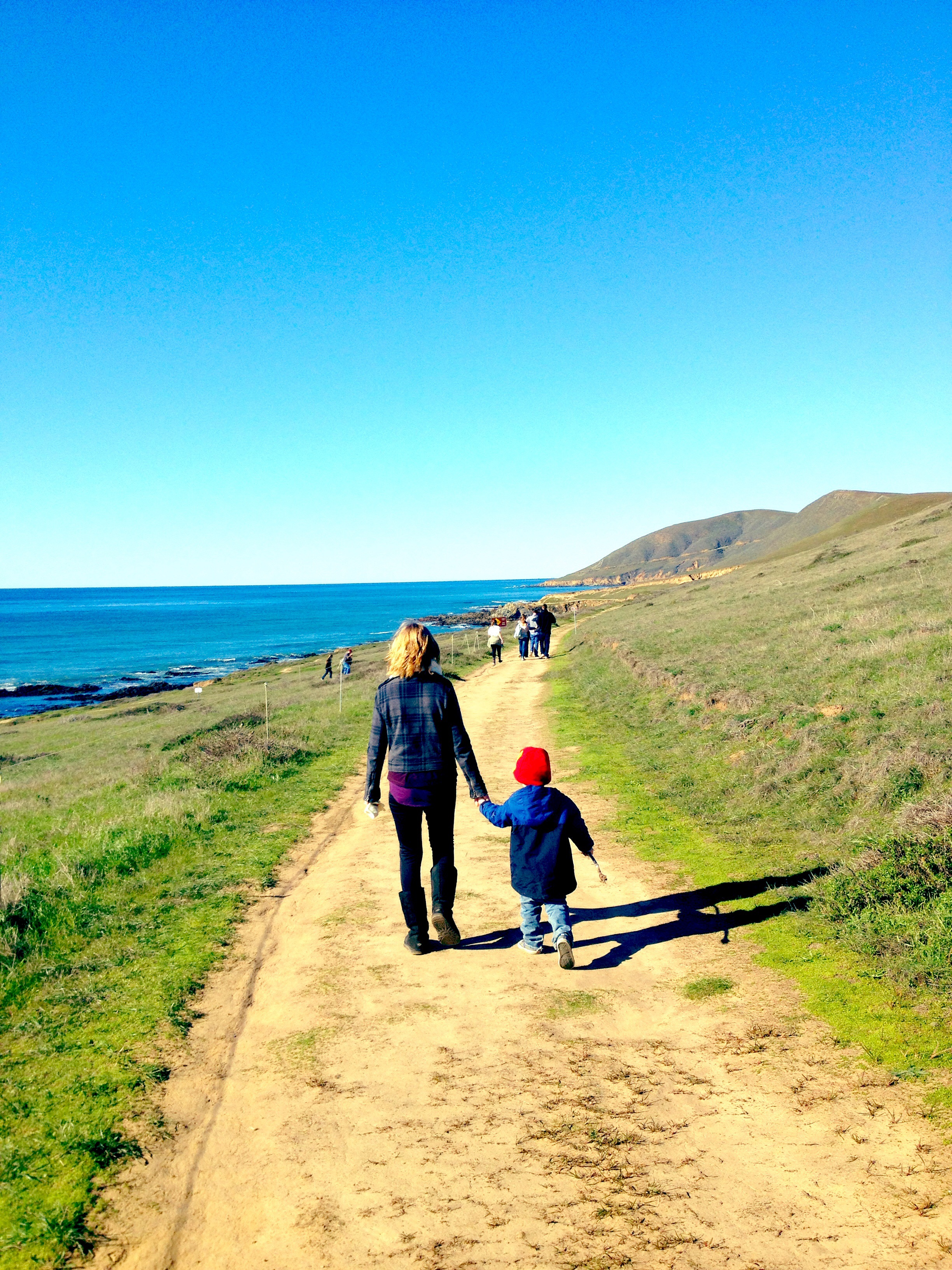 Harmony Headlands Hike