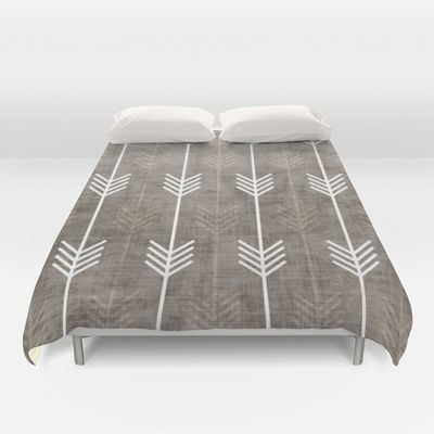 society 6 duvet arrows