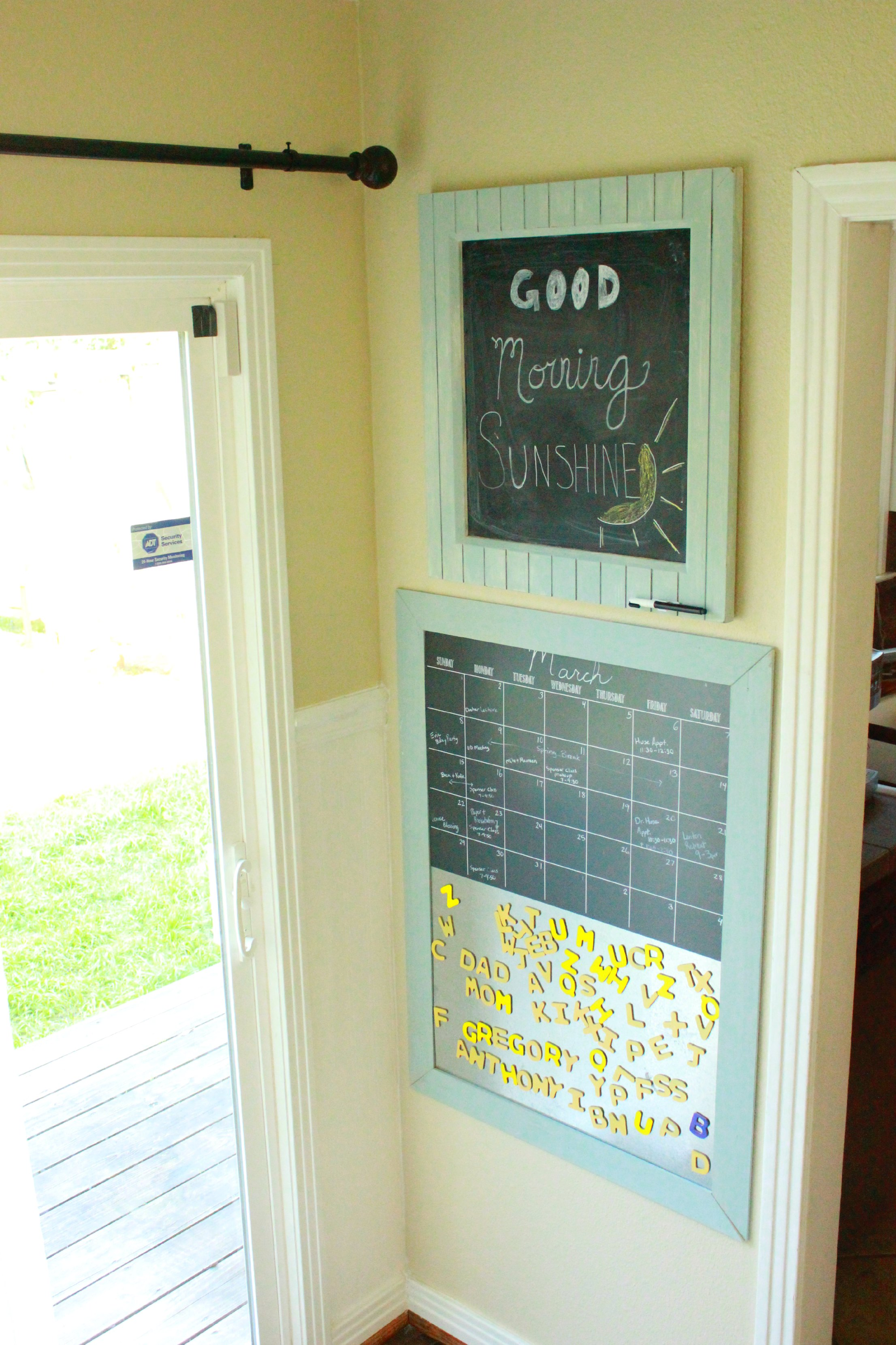 Chalkboard Command Center