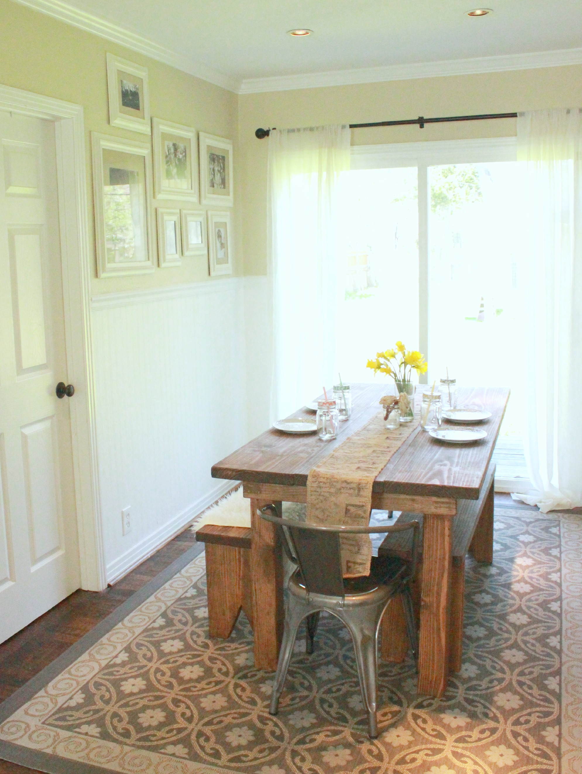 Cottage Dining Room Table
