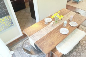 Cottage Farm Table Rustic