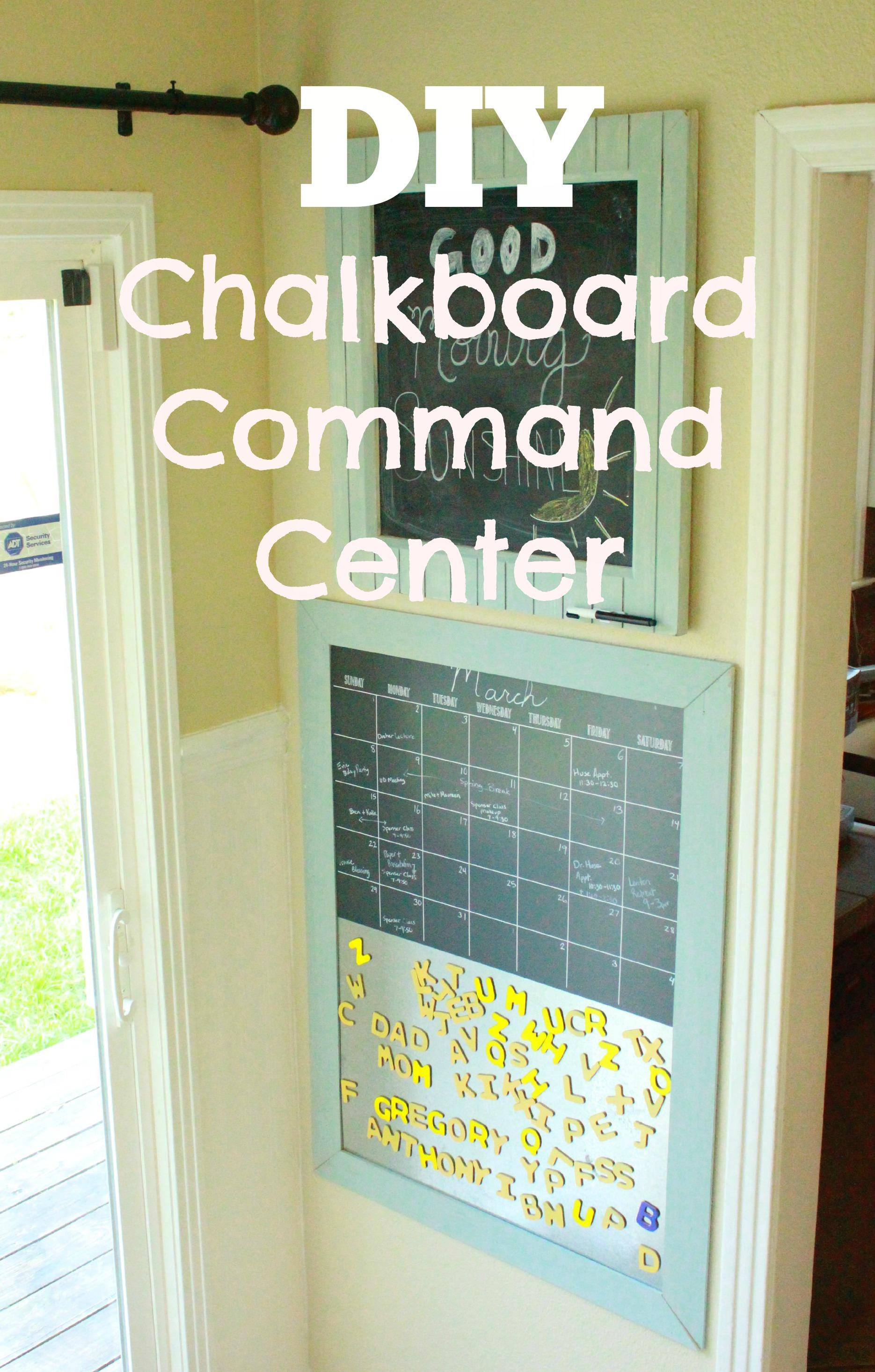 DIY Command Center