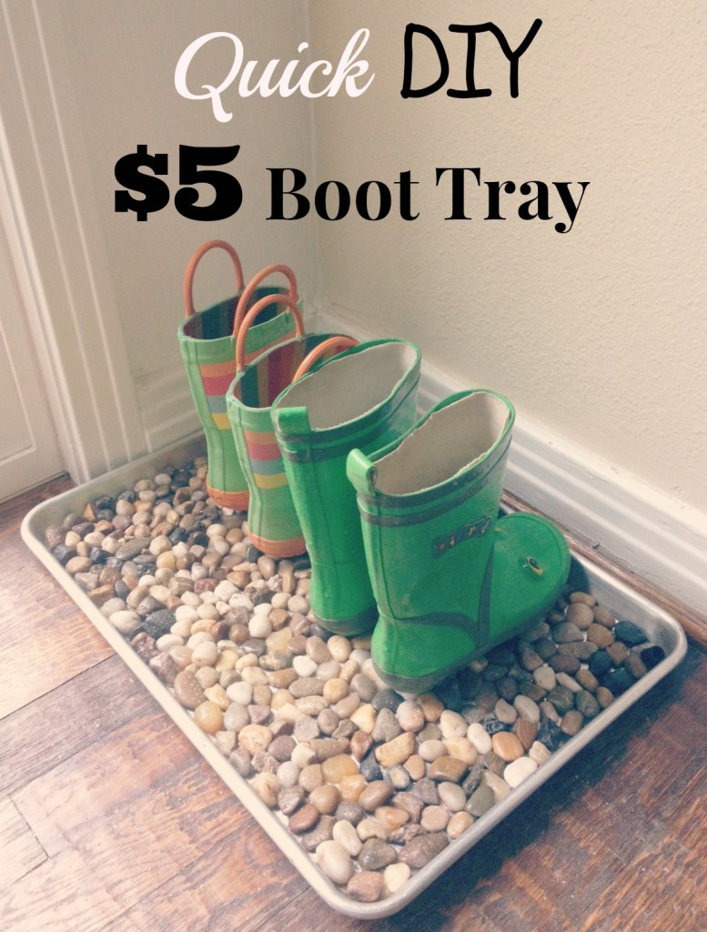 $5 Boot Tray