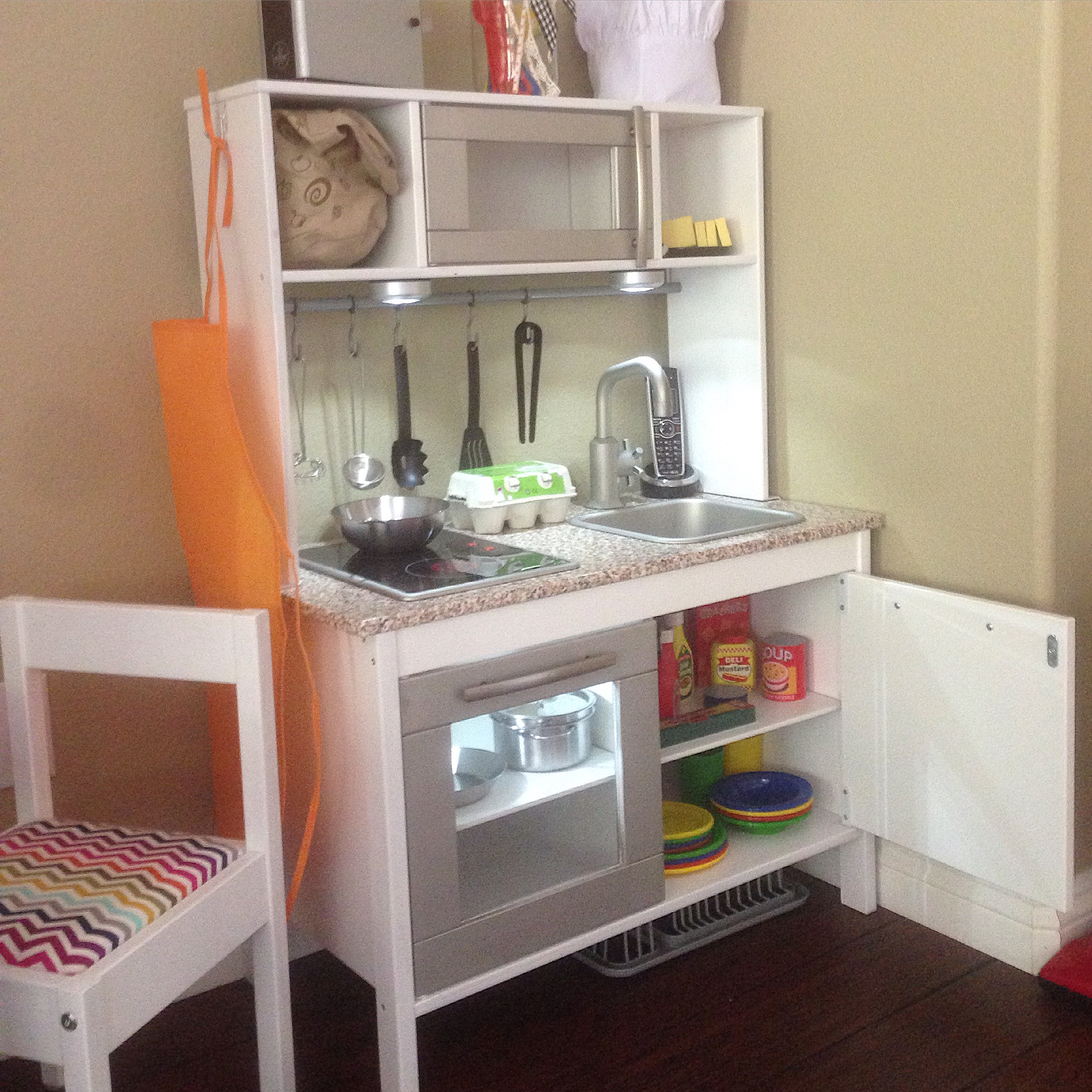 Ikea duktig play kitchen hack our cone zone for Email ikea com