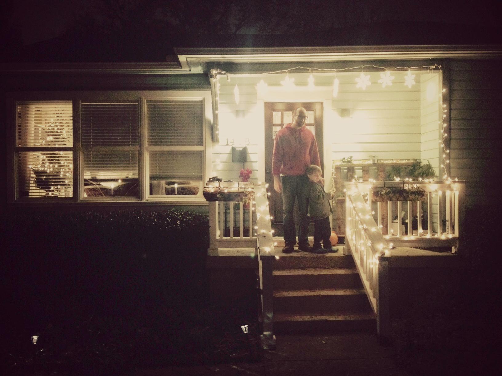 Christmas Decorations Outside House