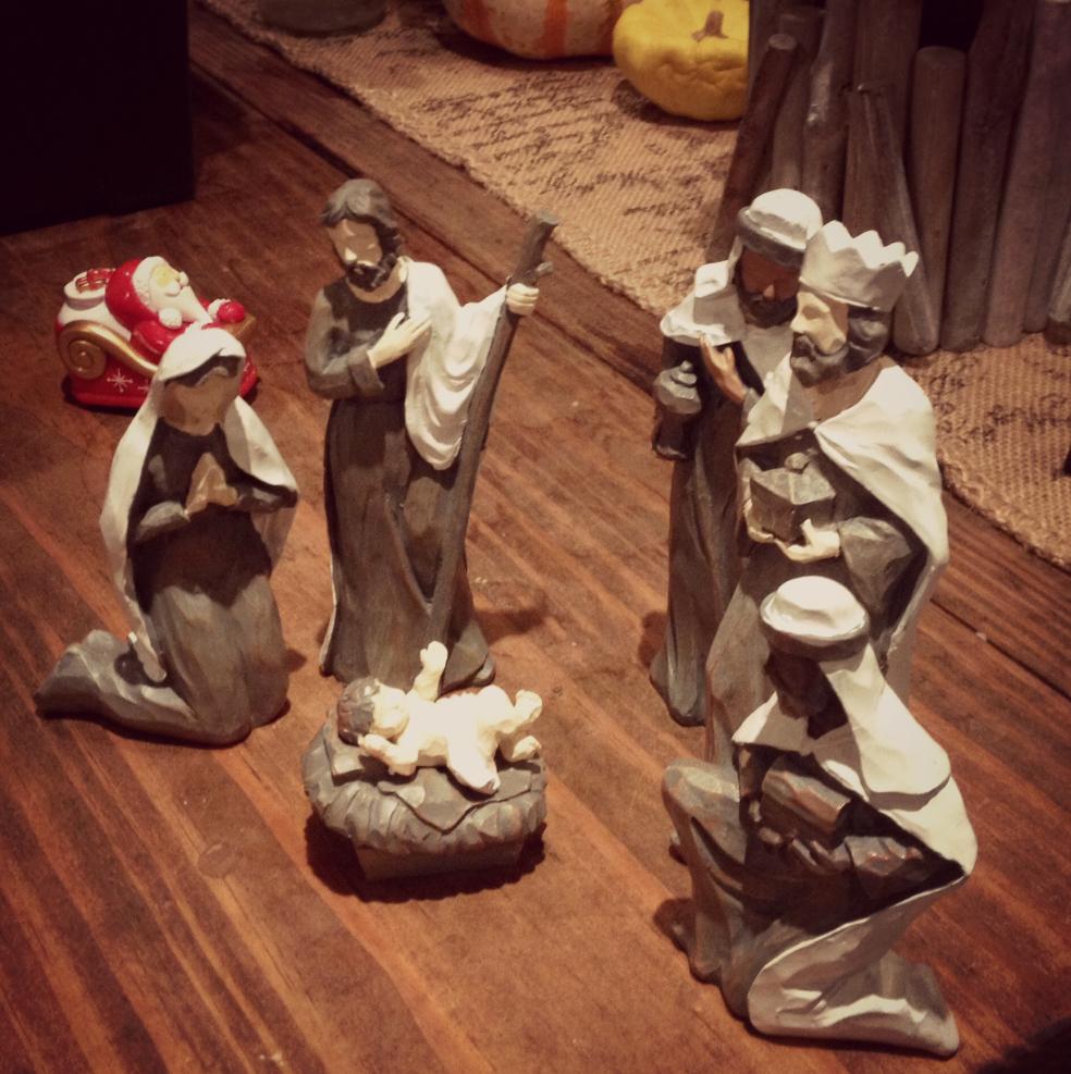 Christmas Manger scene