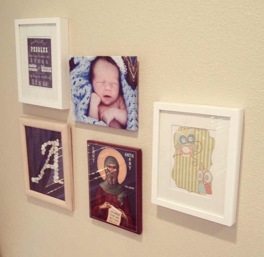Boys Room Pictures in Frame