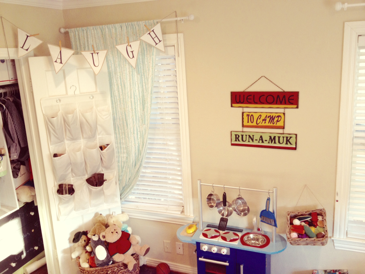 Boys Room Play Kitchen