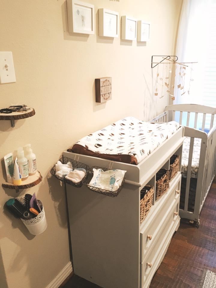 Baby Thomas' room